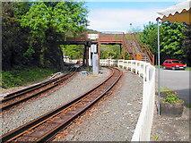 SH6441 : Tan-y-bwlch Station by John Lucas