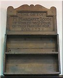 SJ9995 : Margaret Booth's gift to the poor by Gerald England