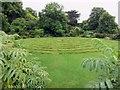 SZ4083 : The Turf Maze at Mottistone Manor by Steve Daniels