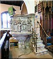 SJ9995 : Mottram Church: Pulpit by Gerald England