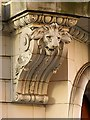 SE2933 : Scottish Union and National Insurance Company building, Park Row, faience lion by Alan Murray-Rust