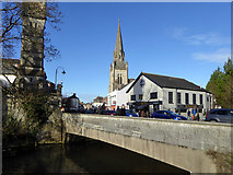 SU1429 : Fisherton (Bridge Street) Bridge and Bridge Tap, Salisbury by Robin Webster