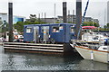 SX4853 : Fuel stop, Queen Anne's Battery Marina by N Chadwick
