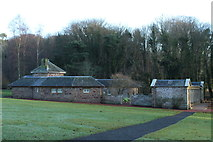 NS2209 : Buildings at the Swan Pond, Culzean by Billy McCrorie