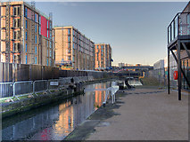 SJ8298 : Middlewood Locks by David Dixon