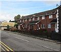 SS9992 : Row of brick houses, Trealaw Road, Trealaw by Jaggery