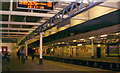 TQ1875 : Richmond station, night-time 2003 by Ben Brooksbank
