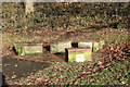 SO2801 : Memorial seats, Pontypool Park by M J Roscoe