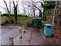 ST1783 : BT telecoms cabinet, Cherry Orchard Road, Lisvane, Cardiff by Jaggery
