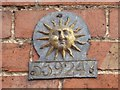 SO8734 : Insurance plaque by Philip Halling