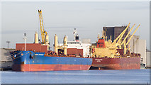 J3576 : Two ships at Belfast by Rossographer