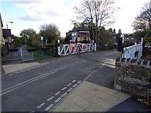 SK2663 : Church Lane Crossing by Ashley Dace