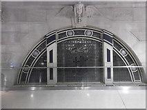TQ3179 : Window, Waterloo Station by Robin Sones