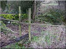 SE0722 : Stile on Sowerby Bridge FP81 at Hollas Lane by Humphrey Bolton