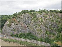 ST5673 : Saint Vincent's Rocks by Stephen Craven