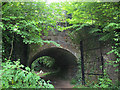 ST5574 : Railway underpass in Leigh Woods (2) by Stephen Craven