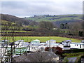 SN6679 : A view over Maes Bangor on Christmas Day by John Lucas