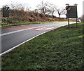 SO3107 : End of the 40 zone in Llanover, Monmouthshire by Jaggery