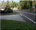 SO3107 : Junction in the south of Llanover by Jaggery
