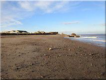 TA4115 : The beach at Kilnsea by Jonathan Thacker