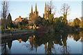 SK1109 : Minster Pool by Bill Boaden