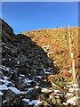 SS8792 : Hillside above Nant Cwmdu by Alan Hughes