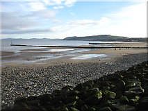 SH8479 : The beach at Colwyn Bay by David Purchase