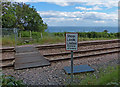 NZ4446 : Level crossing on the Durham Coast Line by Mat Fascione