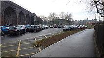SO8455 : Croft Road car park, Worcester, 1 by Jonathan Billinger