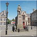 NJ5239 : Duke of Richmond statue, the Square, Huntly by Bill Harrison