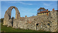 TM4464 : The Refectory - Leiston Abbey, Suffolk by Phil Champion