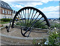 NZ4349 : Seaham Colliery pit wheel by Mat Fascione
