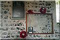 TM4156 : War memorial at St Botolph's, Church, Iken, Suffolk by Phil Champion