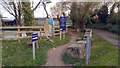 TM4249 : Permissive path from car park to the quay, Orford, Suffolk by Phil Champion