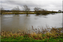 SK1814 : The River Tame by the National Memorial Arboretum by Bill Boaden