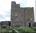 NU2135 : Prior Castell's Tower, Inner Farne island by Bill Harrison