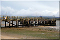 SY9890 : Lake Pier, Wareham Channel, Poole Harbour by Phil Champion