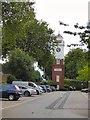 SJ8590 : Tesco Clock Tower by Gerald England