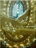 SJ3490 : Atrium, Liverpool Central Library by Emily Coco Harrop