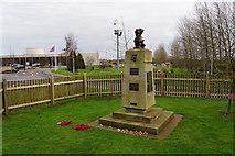 SK1814 : Chindit memorial at the National Memorial Arboretum by Bill Boaden