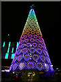 SJ3490 : Liverpool One Christmas Tree by David Dixon