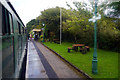 SY9880 : At Harman's Cross station, Swanage Railway, Isle of Purbeck by Phil Champion