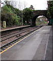 ST1882 : Southern end of Llanishen railway station, Cardiff by Jaggery