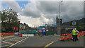 SE0126 : Demolition of shops on Burnley Road, Mytholmroyd, West Yorkshire by Phil Champion