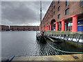 SJ3389 : Glaciere of Liverpool, Albert Dock by David Dixon