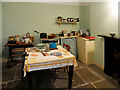SJ3389 : Kitchen, 9 Albert Parade by David Dixon