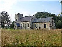 TL6153 : Weston Colville church by Robin Webster