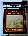 SO3013 : Belmont Inn name sign, Abergavenny by Jaggery