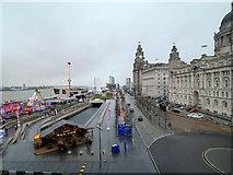 SJ3390 : Liverpool Pier Head and the Three Graces by David Dixon