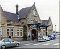 NS7993 : Stirling station, entrance 2006 by Ben Brooksbank